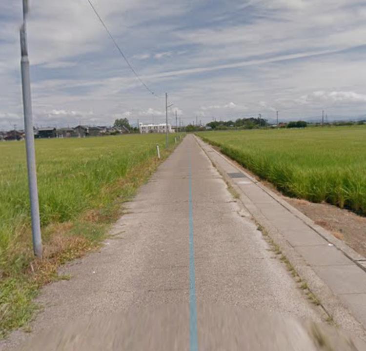 新潟の田舎道