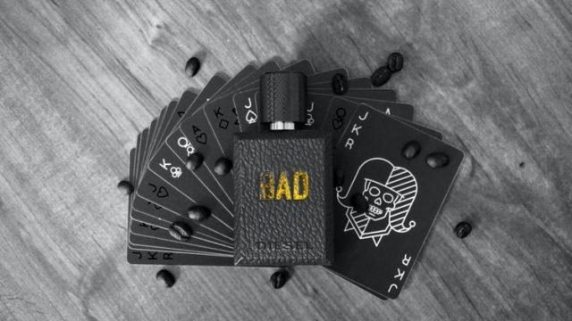 BADと書かれたカード